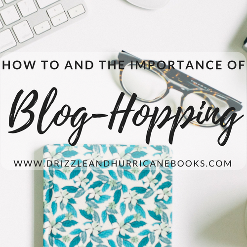 """marie's post header: """"how to and the importance of blog-hopping"""". you can read her post by following the image's link."""